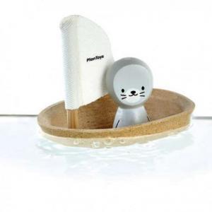 Voilier phoque plantoys 'planwood'  - jouets de bain