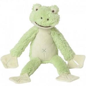 Happy horse grenouille frazier peluche doudou verte 38cm - doudou