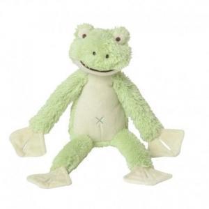 Happy horse grenouille frazier peluche doudou verte 30cm - doudou