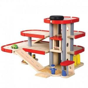 Garage parking petite voiture plantoys