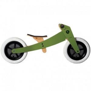Draisienne  wishbone bike 2 en 1 classic  verte - vélo en bois