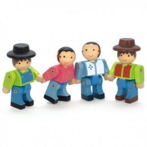 Jouet personnage 'les fermiers' jeujura - jouets du jura
