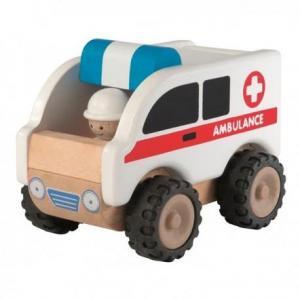 Ambulance wonderworld - jouets en bois