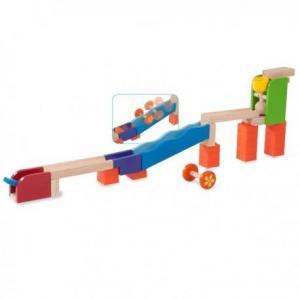 Wonderworld circuit à billes mini catapulte trix track - circuit