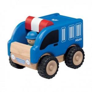 Petite voiture de police  wonderworld - jouets en bois