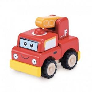 Camion de pompier à construire  wonderworld - jouets en bois