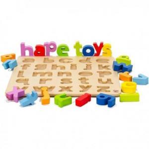 Puzzle alphabet minuscules - jouets hape