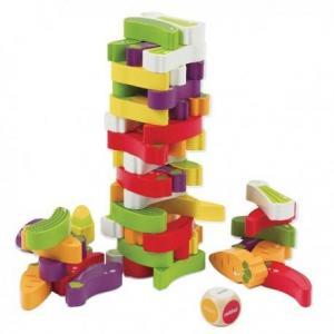 Hape jeu d'équilibre tour de légumes - jouets hape