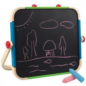 Hape tableau d'écolier noir - blanc  - jouets hape