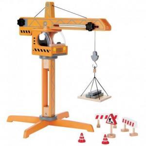 Hape grue de chantier en bois - jouets hape