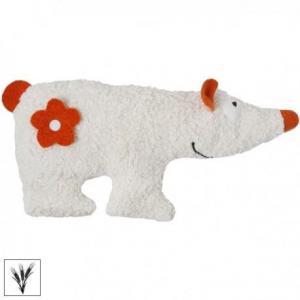 Efie bouillotte epeautre doudou coton organic ours polaire  39 cm -