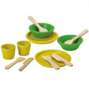 Dinette menagere plantoys 'planwood'  - jouet cuisine en bois