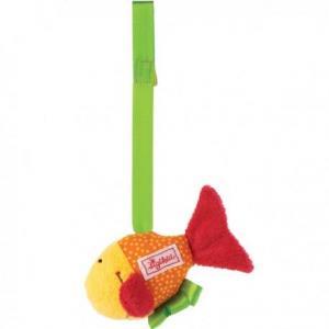 Sigikid  clip hochet poisson baby fit - fun - hochet pour portique
