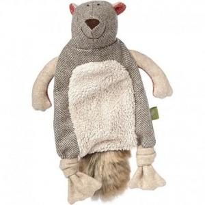 Doudou plat marmotte mountain beasts 'heidi' sigikid - doudou