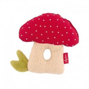 Hochet sigikid champignon - jouet bio