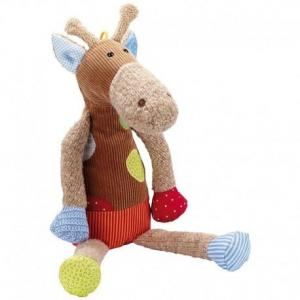 Sigikid peluche doudou girafe sweety 43 cm - peluches écologiques