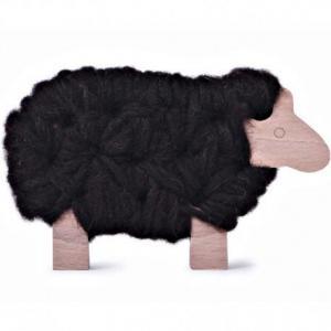Mouton jeux de tricot 'woody' marron -  les jouets libres