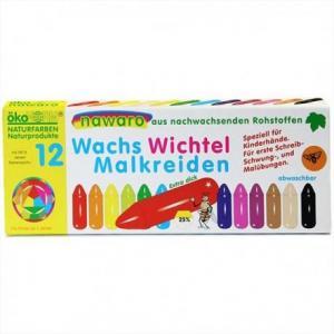 Okonorm nawaro craies à la cire 12 couleurs