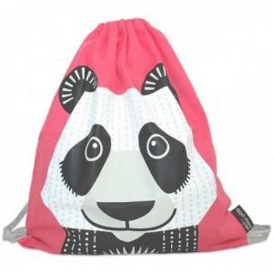 Sac d'activités maternelle rose panda - coq en pâte mibo