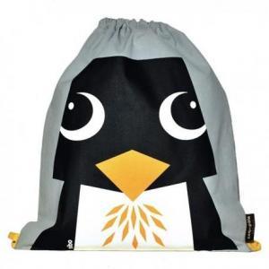Sac de gym maternelle gris pingouin - coq en pâte