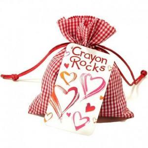 Sachet 20 crayons cailloux cire naturelle  crayon rocks - crayons