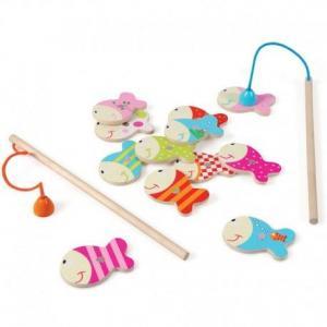 Jeu de pêche à la ligne classic scratch europe - jouets en bois