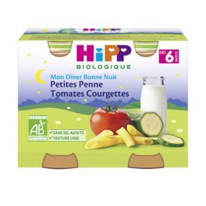 HiPP Penne Tomate Courgette dès 6 mois