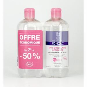 2 eaux micellaires REactive JONZAC
