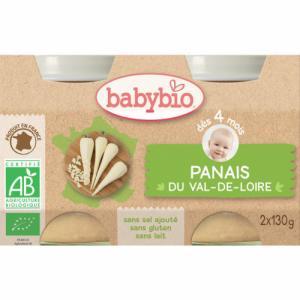 Babybio Petits pots Panais 4 mois