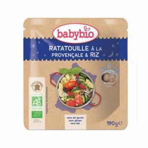 Babybio Sachet Ratatouille Riz 8 mois