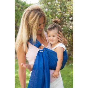 Sukkiri Porte-bébé Sling Bleu