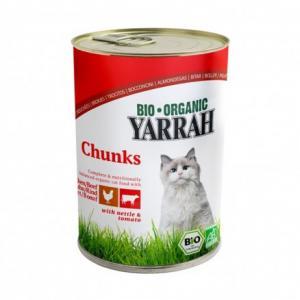 Bouchée Poulet et bœuf pour chat 405 g