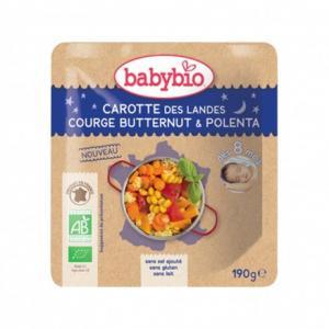Doypack bébé Carotte des Landes, Courge Butternut - Polenta 190g
