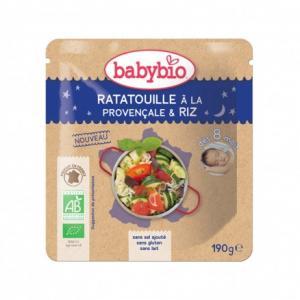 Doypack bébé Ratatouille à la provençale - Riz 190g