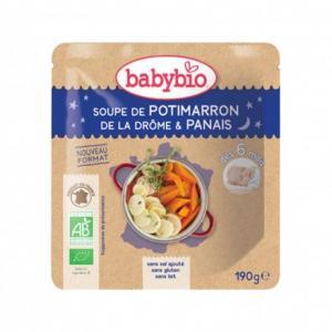 Doypack bébé Soupe de Potimarron de la Drôme - Panais 190g