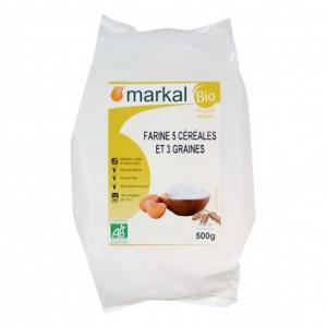 Farine 5 céréales et 3 graines 500 g