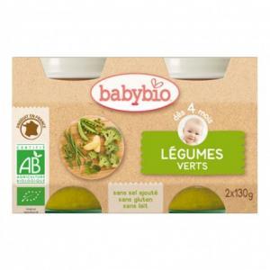 Petit Pot bébé - légumes verts