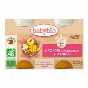 Petit pot bébé Pomme d'Aquitaine - Mangue