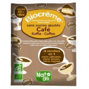 Préparation Biocrème café