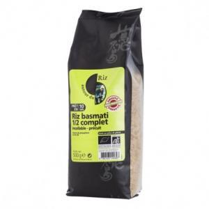 Riz Basmati 1-2 complet incollable-précuit 500 g
