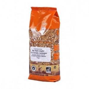 Riz Thaï complet - céréales anciennes étuvé 1 Kg