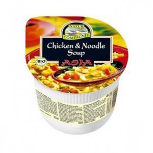 Soupe Asiatique de Poulet aux Pâtes Bio