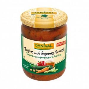 Tajine aux 6 légumes - miel