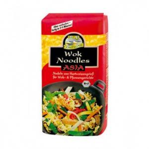 Wok Noodles Nouilles Asiatiques Bio