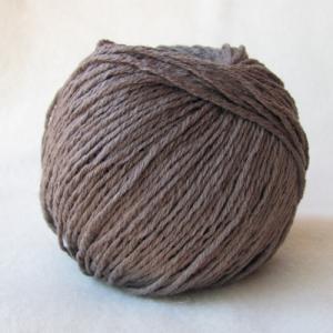 Fil à tricoter 100% Mérinos Taupe aiguille 4