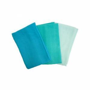 POPOLINI 3 langes en coton Bleu