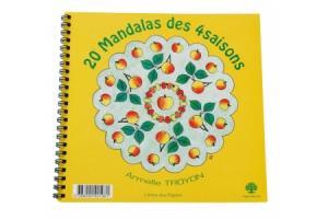 20 Mandalas des 4 saisons Coloriage