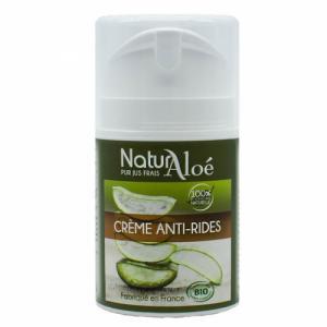 Crème anti-rides bio à l'Aloe vera 50ml