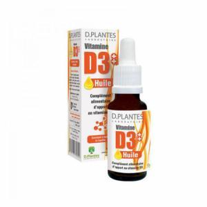 Vitamine D3++ Huile - flacon 20 ml