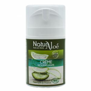 Crème nourrissante bio à l'Aloe vera 50ml - Peaux sèches